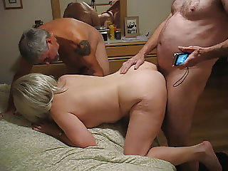 Sharing a nice wet cunt