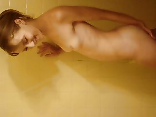 Jackie in the Shower