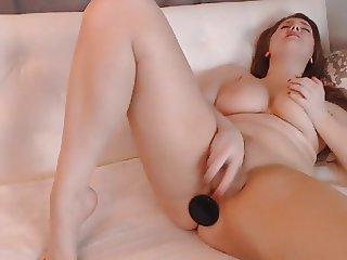 Curvy Girl With Big Boobs Solo Masturbation