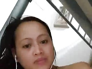 Filipina horny girl masturbating on cam