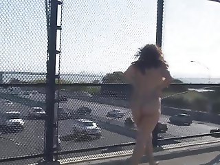 Total Exhibitionist Stops Traffic