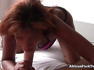 Morning Sex With Real African Girl!