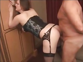 Girl Sucks Huge Mature Senior Grandpa Cock