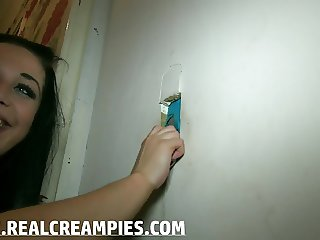 MULTIPLE GLORYHOLE CREAMPIES