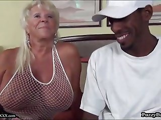 72 year old Grandma Craves Big Black Cock
