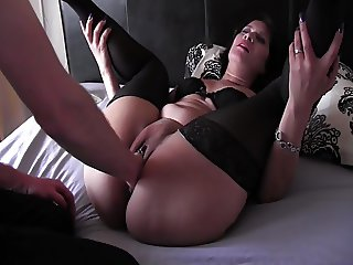 Lovely fisting and squirting