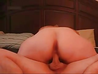 Slut Fat Chubby I met at the sandwich store riding my cock