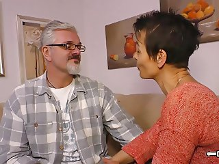 Hausfrau Ficken - Housewife mature German is fucked hard