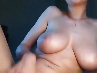 Solo girl on webcam