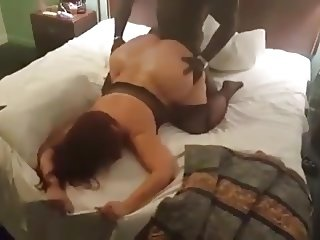 Huge ass married mother pounded by BBC