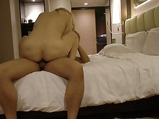 Brown dick for Russian milf in Thailand P2