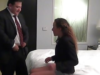 STP1 Boss Fucks His Teen Secretary In Their Hotel Room !