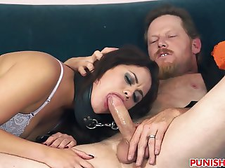 Cheating GF Blair Summers gets punished