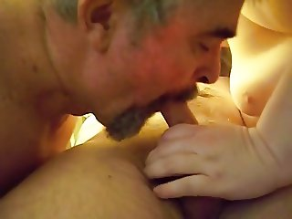 Love sharing a cock with wife