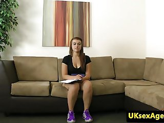 Office amateur auditions with bj for casting