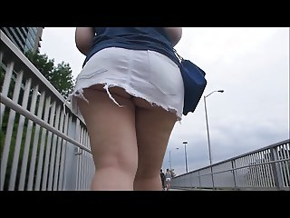 22yr old amanda showing off her ass at the park - 3 part 7