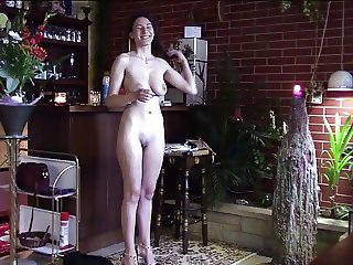 SHY COLLEGE GIRL FIRST TIME STRIPPING DOWN