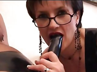 Lady Sonia - Latex Cock Treatment