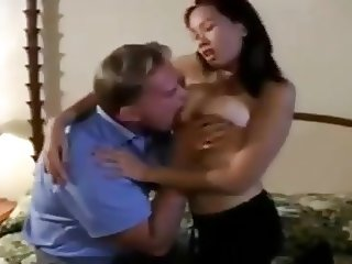 BLEACHED: Busty Asian Fucked by White Cock BWC