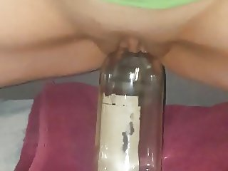 Heather fucking hell out of a bottle