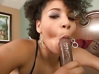 Ebony Babe Properly Fucked by BBC