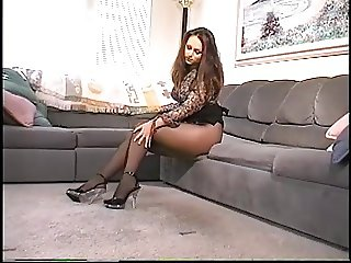 Black Pantyhose teen