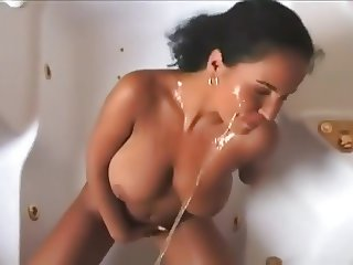 Pissing on a really cute college girl 4