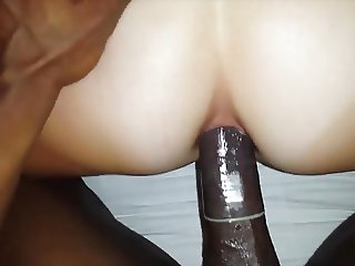 Amateur Wife's First Ever BBC Anal Hubby Films