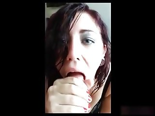 18 YO Teen Amateur Blowjob Cum Shot in Mouth