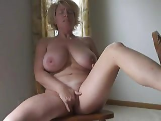 Big Titty Mature Playing With HErself