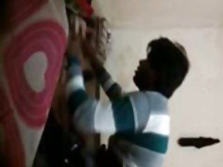 22 very cute gf in bf room full video