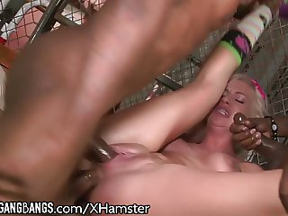 DevilsGangBangs Teen DP and Creampied by BBCs