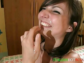 italian cum in mouth compilation