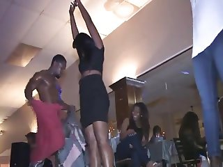 Real Party for Women with male stripper 2 (CFNM)
