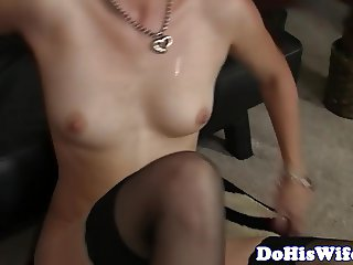 Married babe banged in cowgirl position
