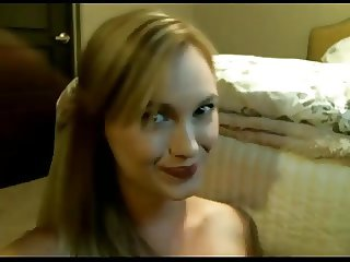 Cam Whore Makes Her Roomate Cum Twice Gobbles It Down