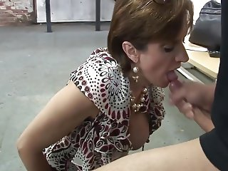 British lady blowjob and handjob