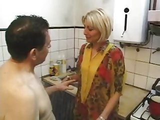 Fuck in Kitchen