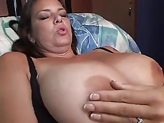 Chubby MILF loves her Boy