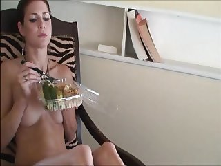 How to feed a male slave