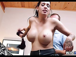 French Wife Cheats on Her Man