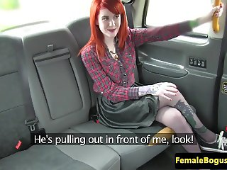 Stockinged taxi lesbian pussylicking lesbian