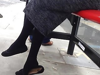 18 years old Bengali girl at bustop