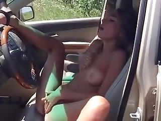 Teen car solo