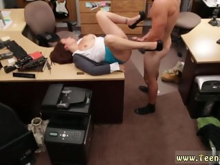Teen shemale fucks guy in ass and blonde