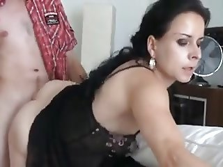 Lower income Cougar fucked by some Peasant