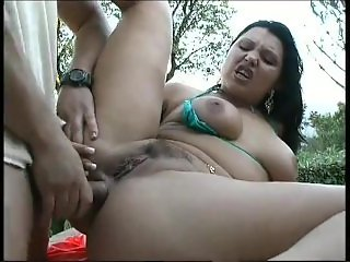 robert ribot vs lady rox  outdoor sex