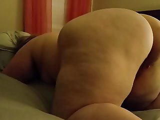 My new white BBW PEAR Betty. TIGHT SQUIRTER TOO