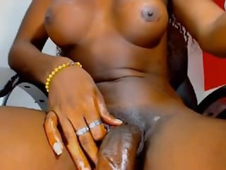 Black latin shemale with huge cock &