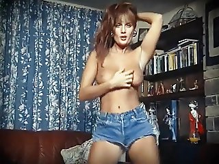 I LOVE ROCK'N'ROLL - vintage perfect boobs striptease dance
